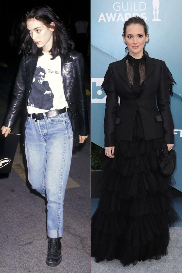 <p>Sleek and black stays true to the Winona we know.</p>