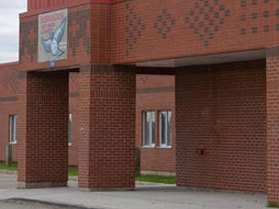 Elsipogtog School, a K-8 school in the Moncton region, Zone 1, is closed for two days after a student tested positive for COVID-19. (Anglophone North School District - image credit)