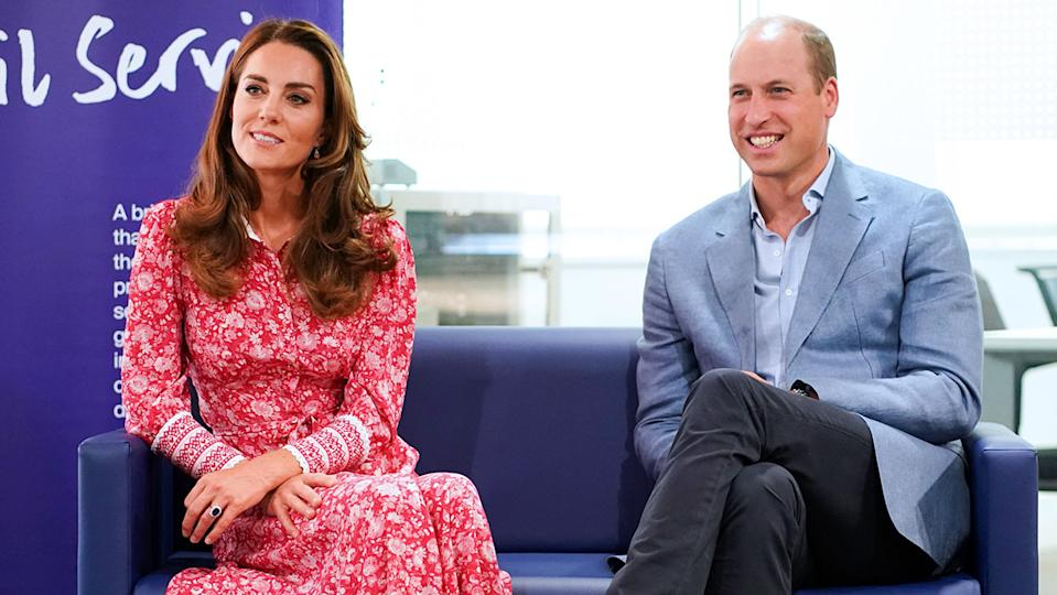 The Duke and Duchess of Cambridge made a string of appearances at venues across London on 15 September.  (Getty Images)