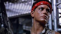 """<p><em>""""Hey Vasquez, have you ever been mistaken for a man?"""" </em></p><p><em>""""No, have you?""""</em></p><p>While Jenette Goldstein's character didn't survive her company's mission on LV-426 in James Cameron's epic action-horror sequel, no one can deny that this five-foot-two-inch firecracker slayed her fellow marines with words as well as she did a hostile hive of xenomorphs with her heavy artillery.</p>"""