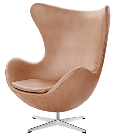 """<p><strong>Arne Jacobsen</strong></p><p>fritzhansen.com</p><p><a href=""""https://fritzhansen.com/en-US/egg"""" rel=""""nofollow noopener"""" target=""""_blank"""" data-ylk=""""slk:Shop Now"""" class=""""link rapid-noclick-resp"""">Shop Now</a></p><p>Designed by Arne Jacobsen in 1958 for the SAS Royal Hotel in Copenhagen, the Egg chair provides comfort in the form of a swiveling, cocoon-shaped seat. Jacobsen sculpted models in clay to settle on the perfect shape. </p>"""