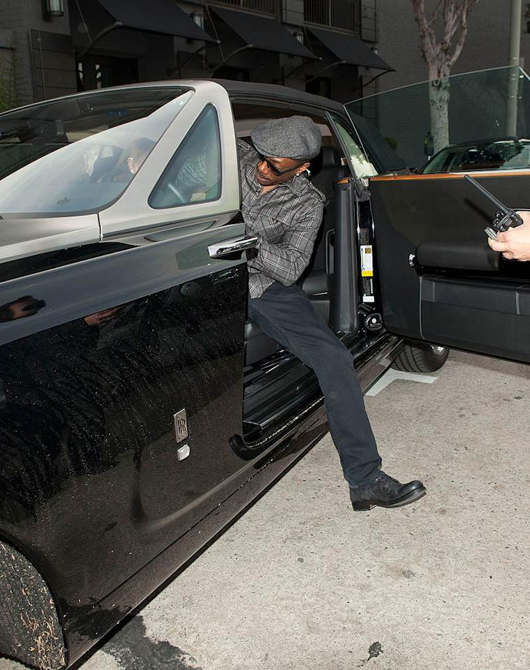 """When you drive a Rolls Royce, it's pretty easy to say """"take this job and shove it!"""" Are you bummed that Eddie won't be hosting the Oscars? (11/9/2011)"""