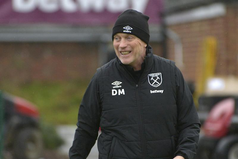 West Ham manager David Moyes: West Ham United via Getty Images