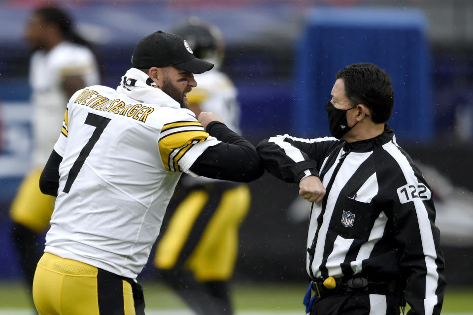Pittsburgh Steelers quarterback Ben Roethlisberger (7) were one of the underdogs that won straight up last week. (AP Photo/Gail Burton)