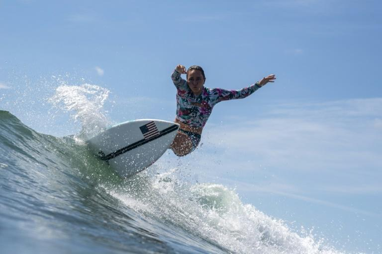 Surfing is another of the new sports added to the Olympics in which Japan has done well