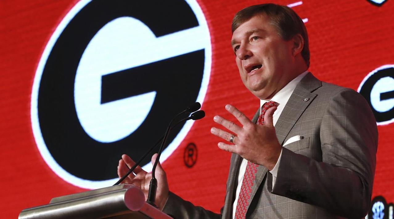 Kirby Smart and Georgia Determined to Close the Gap on Alabama