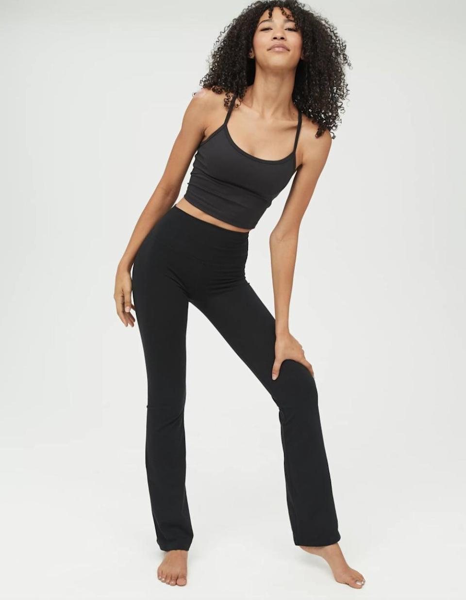 <p>If you struggle to find pants that are the right length for you, check out the <span>American Eagle Offline OG High Waisted Flare Leggings</span> ($21). Offline offers three different lengths in each size - short, regular, and long - so you don't have to worry about exposed ankles or tripping over the hem.</p>
