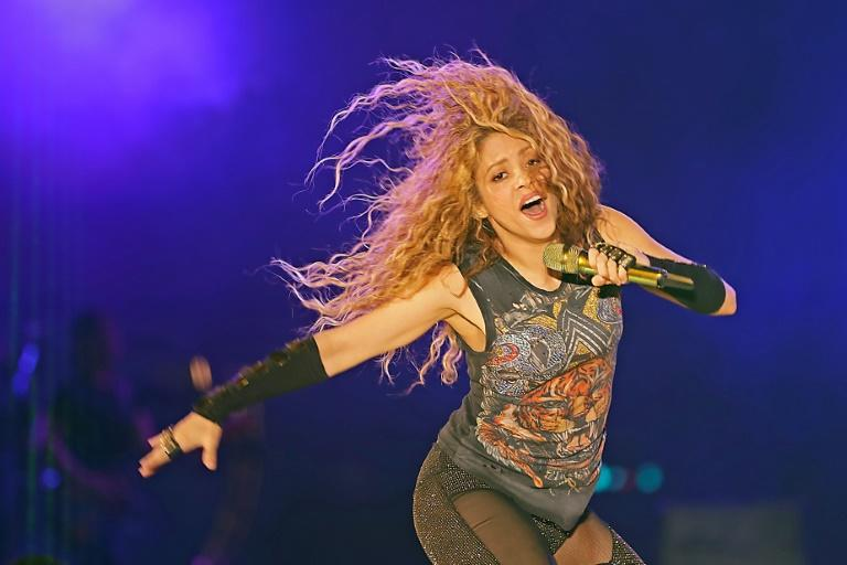 "Shakira was forced to postpone her ""El Dorado World Tour"" for seven months after suffering a hemorrhage on her right vocal cord"