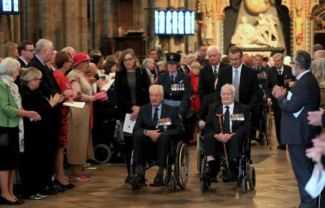 Westminster Abbey Battle of Britain service