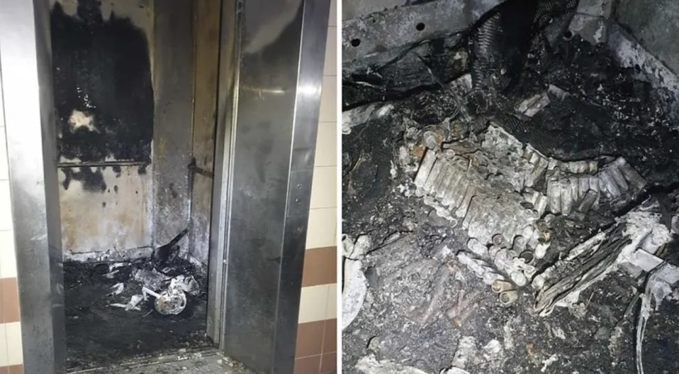 A 20-year-old man died following a PMD-related fire at Block 537 Woodlands Drive 16 on 3 June 2021. (PHOTOS: SCDF/Facebook)