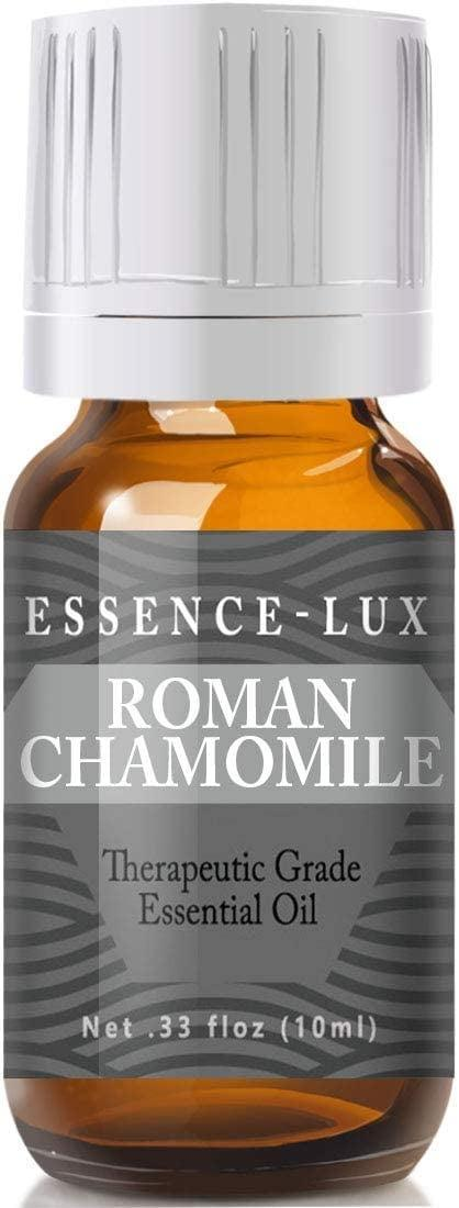 """<p>Another essential oil that might help you feel more calm is the <a href=""""https://www.popsugar.com/buy/Essence-Lux-Roman-Chamomile-Essential-Oil-572308?p_name=Essence-Lux%20Roman%20Chamomile%20Essential%20Oil&retailer=amazon.com&pid=572308&price=10&evar1=fit%3Aus&evar9=47456050&evar98=https%3A%2F%2Fwww.popsugar.com%2Ffitness%2Fphoto-gallery%2F47456050%2Fimage%2F47456592%2FEssence-Lux-Roman-Chamomile-Essential-Oil&prop13=mobile&pdata=1"""" class=""""link rapid-noclick-resp"""" rel=""""nofollow noopener"""" target=""""_blank"""" data-ylk=""""slk:Essence-Lux Roman Chamomile Essential Oil"""">Essence-Lux Roman Chamomile Essential Oil</a> ($10). Try diffusing this oil, adding it to a warm bath, or placing a few drops onto a wet face cloth for a soothing aromatherapy experience. </p>"""