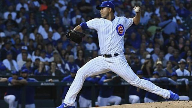 <p>Thanks to the Jose Quintana-Victor Caratini show Tuesday night, the Cubs shut out the Brewers, 3-0, and ensured that they will leave this week's series in first place.</p>