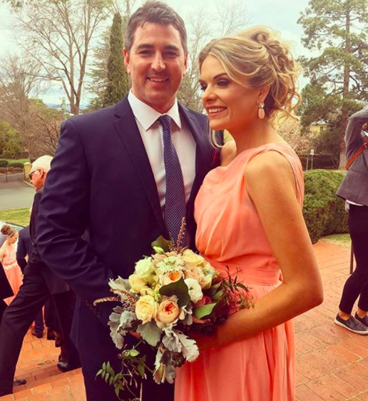 Erin and her fiance Sean got engaged earlier this year. Photo: Instagram