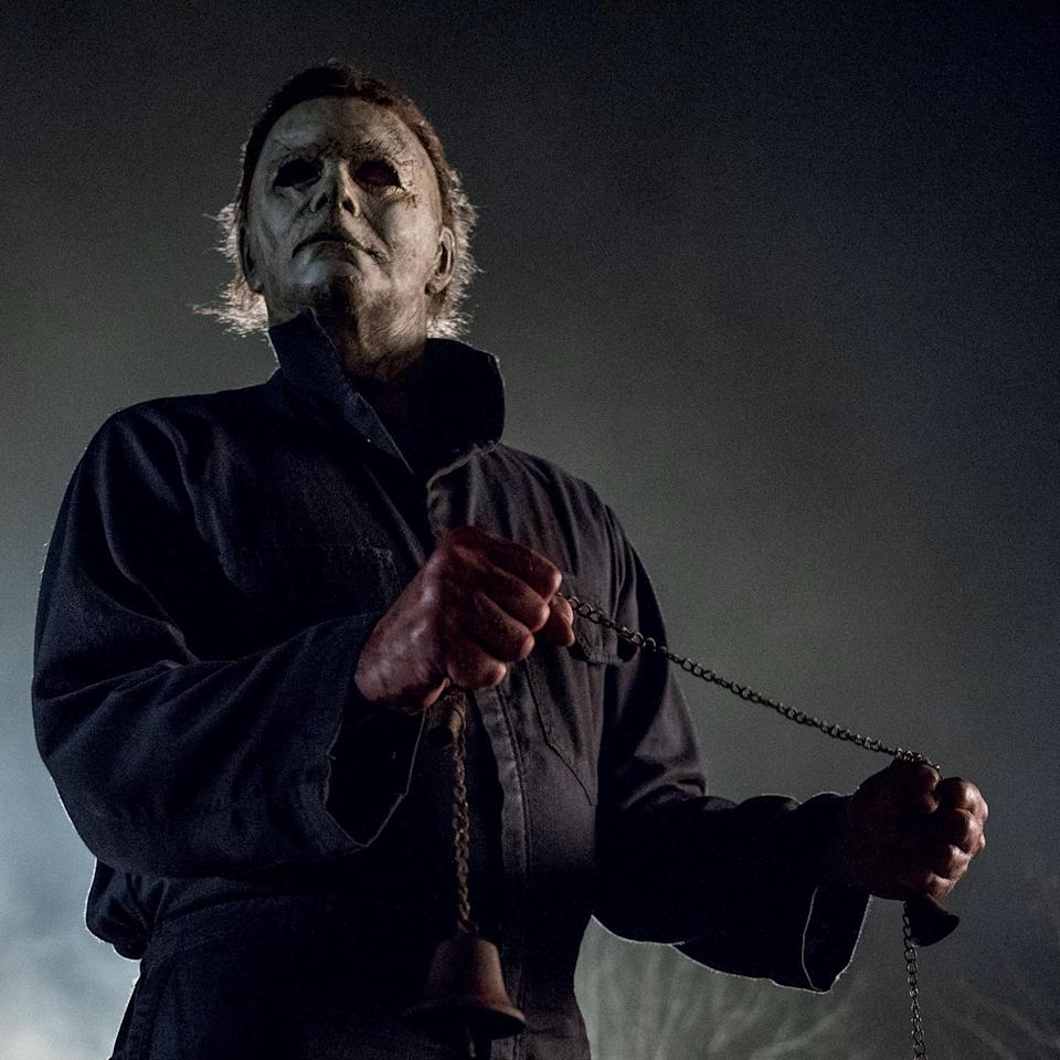 Michael Myers is on the rampage again in the new <i>Halloween</i> (Universal Pictures)