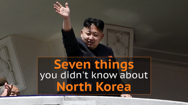 Seven things you didn't know about North Korea