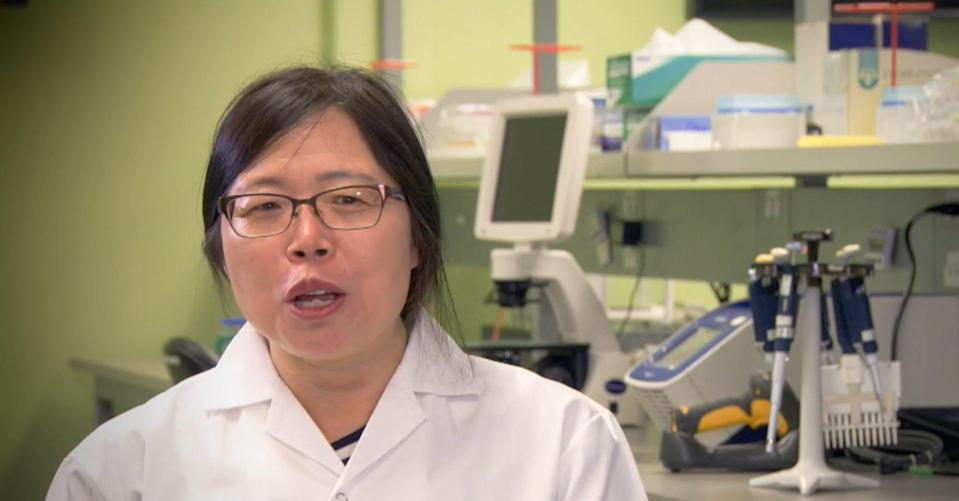 Chinese-Canadian scientist Qiu Xiangguo is seen at Canada's National Microbiology Laboratory in Winnipeg in this scene from a 2018 video, which was made to mark her winning the Governor General's Innovation Award that year. Photo: Rideau Hall Foundation