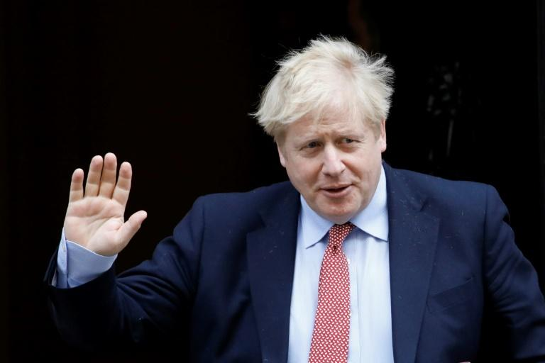 Johnson, 55, has been recuperating at the British prime ministerial retreat, Chequers, outside London since his release from hospital on April 12 (AFP Photo/Tolga AKMEN)