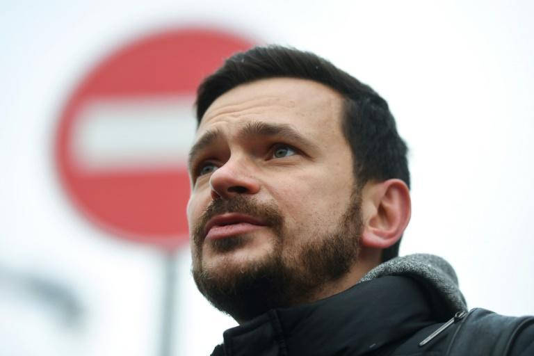 Opposition activist Ilya Yashin was among those detained and later released