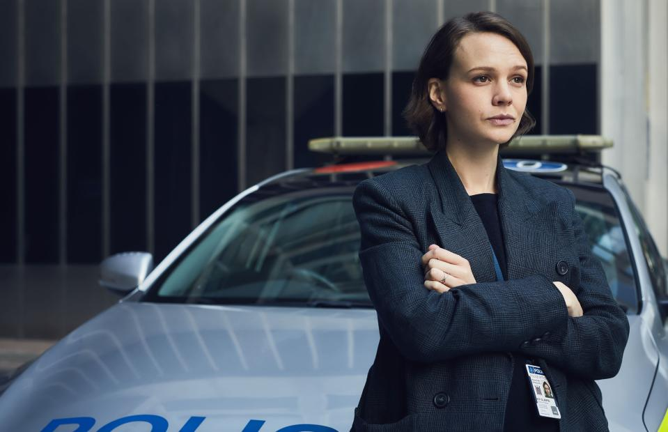 Carrie Mulligan as DI Kip Glaspie (BBC Two)