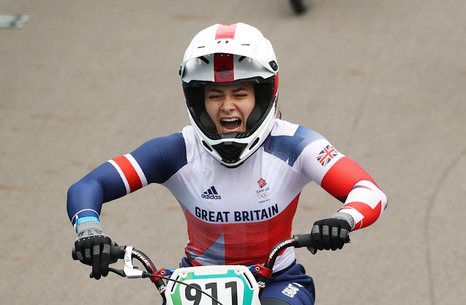 The road to gold hasn't been easy for Bethany Shriever, who crowdfunded her way to the Olympics. (Picture: Ezra Shaw/Getty Images)