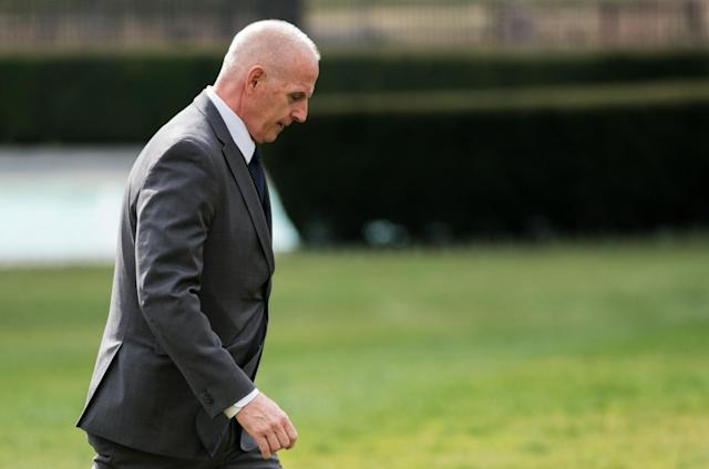 Keith Schiller, deputy assistant to the president and director of Oval Office operations. (Photo: Mandel Ngan/AFP/Getty Images)