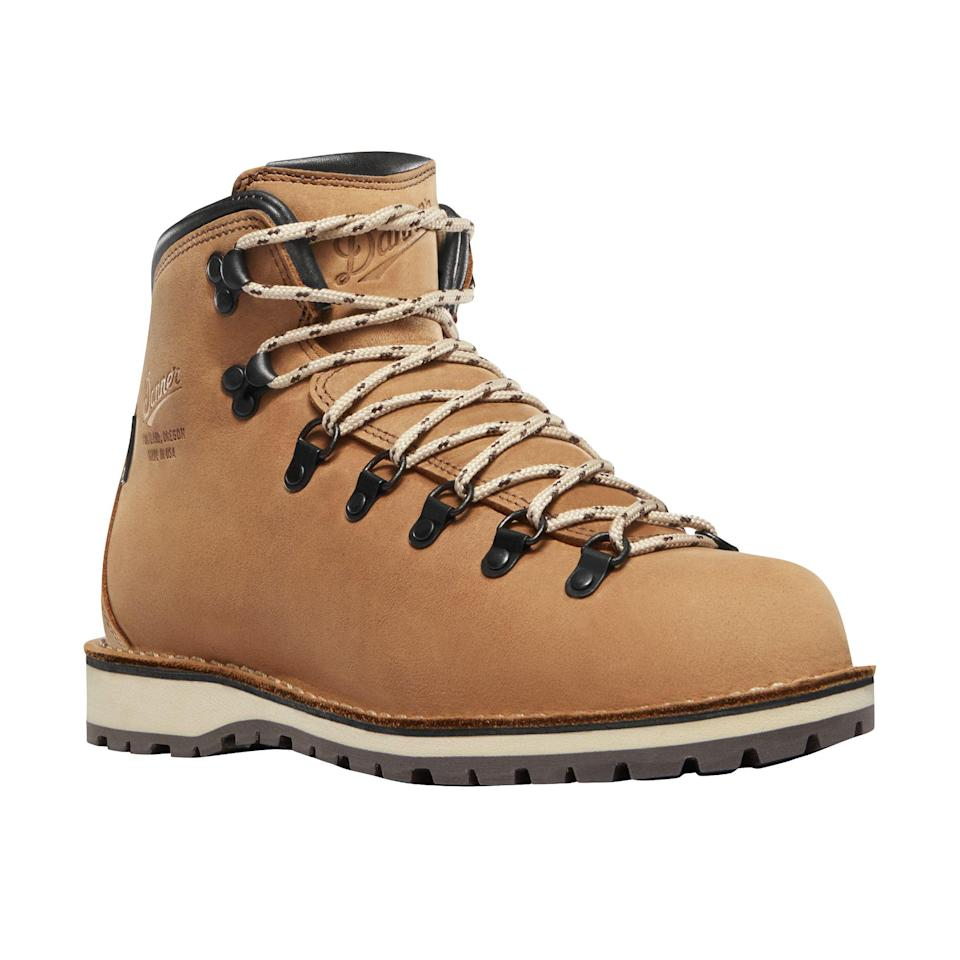 """<p><strong>Danner</strong></p><p>huckberry.com</p><p><strong>$370.00</strong></p><p><a href=""""https://go.redirectingat.com?id=74968X1596630&url=https%3A%2F%2Fhuckberry.com%2Fstore%2Fdanner%2Fcategory%2Fp%2F58020-mountain-pass&sref=https%3A%2F%2Fwww.esquire.com%2Fstyle%2Fmens-fashion%2Fg34487003%2Fhuckberry-fall-mens-essentials%2F"""" rel=""""nofollow noopener"""" target=""""_blank"""" data-ylk=""""slk:Buy"""" class=""""link rapid-noclick-resp"""">Buy</a></p><p>These boots are made for doing whatever the hell you want to be doing. </p>"""
