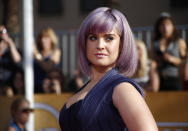 TV personality Kelly Osbourne arrives at the 20th annual Screen Actors Guild Awards in Los Angeles, California January 18, 2014. REUTERS/Lucy Nicholson (UNITED STATES Tags: ENTERTAINMENT)(SAGAWARDS-ARRIVALS)
