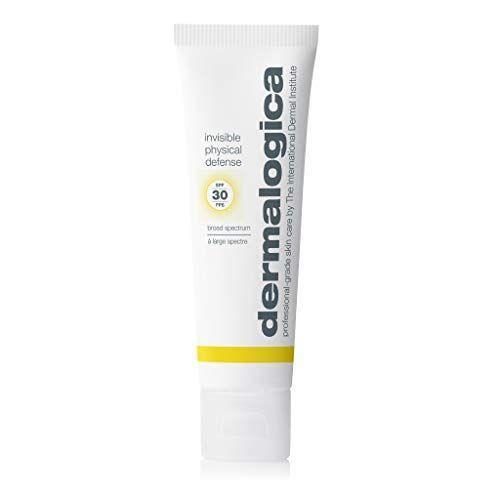 "<p><strong>Dermalogica</strong></p><p>amazon.com</p><p><strong>$45.00</strong></p><p><a href=""https://www.amazon.com/dp/B085K9QVD6?tag=syn-yahoo-20&ascsubtag=%5Bartid%7C2089.g.36107013%5Bsrc%7Cyahoo-us"" rel=""nofollow noopener"" target=""_blank"" data-ylk=""slk:Shop Now"" class=""link rapid-noclick-resp"">Shop Now</a></p><p>If you'd rather opt for a physical sunscreen — as in, a sunscreen that <a href=""https://www.goodhousekeeping.com/beauty/anti-aging/g26541068/best-zinc-oxide-sunscreen/"" rel=""nofollow noopener"" target=""_blank"" data-ylk=""slk:uses zinc oxide"" class=""link rapid-noclick-resp"">uses zinc oxide</a> or titanium dioxide for protection — then give this pick from Dermalogica a whirl. Its sheer, lightweight formula protects your skin from UV rays, pollution, <em>and</em> blue-light rays that emit from your tech gadgets.</p>"