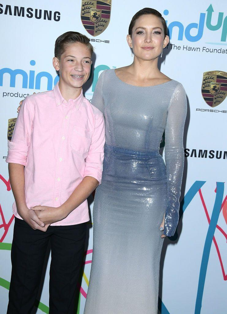"""<p>""""<a href=""""https://www.marieclaire.com/celebrity/a22533/kate-hudson-october-2016-cover/"""" rel=""""nofollow noopener"""" target=""""_blank"""" data-ylk=""""slk:I don't try"""" class=""""link rapid-noclick-resp"""">I don't try</a> to sugarcoat things. I'll say, 'I'm doing the best I can.' I like cooking, I like presenting. I like it to be an experience and [my kids] help me with it, but if they want something after that, I'll be like, 'Look, I'm placing a meal out for you like a king. I can't do everything. I'm going to have to be the okay mom.'"""" </p>"""