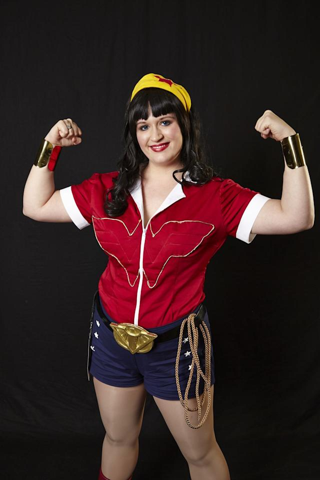 "<p>This fabulous costume is worth the effort with its 1940s Rosie the Riveter feel. With some basic sewing, you can recreate this one-of-a-kind superhero with a retro look. <br></p><p><strong>Get the tutorial at <a href=""https://thegeekyseamstress.com/2014/03/16/costume-notes-bombshell-wonder-woman/"" target=""_blank"">The Geeky Seamstress</a>.</strong></p><p><a class=""body-btn-link"" href=""https://www.amazon.com/Iron-Patches-Embroidered-Applique-31/dp/B0761RYN7L/ref=sr_1_8?tag=syn-yahoo-20&ascsubtag=%5Bartid%7C10050.g.28411859%5Bsrc%7Cyahoo-us"" target=""_blank"">SHOP STAR PATCHES</a></p>"