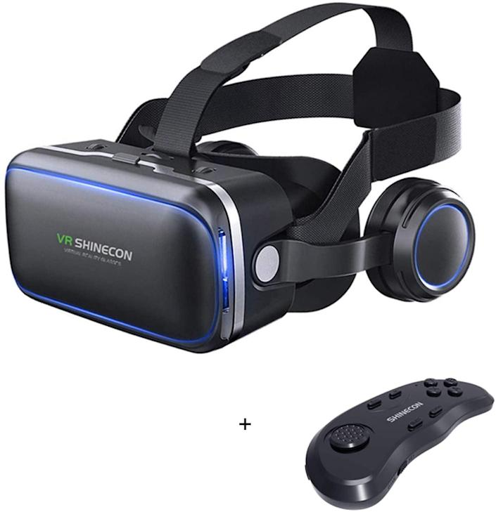 <p>If they're into virtual reality, they'll have a lot of fun with this <span>VR Headset</span> ($40). </p>