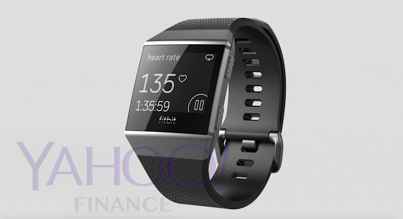 Another photo of Fitbit's upcoming Smartwatch, which was leaked to Yahoo Finance.