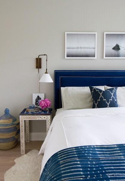 "If you have more than three decorative pillows on your bed, Doland suggests you edit those down to simplify bed-making, and achieve a more streamlined look.  Photo: <a rel=""nofollow"" href=""http://www.jjnorrisinteriors.com/project/long-island-city/"">Jenny J. Norris Interiors</a>"