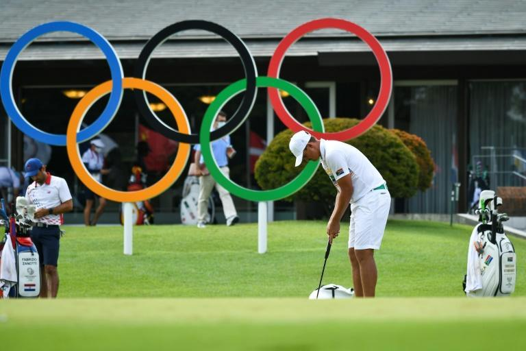 Golf is making its second appearance at an Olympics