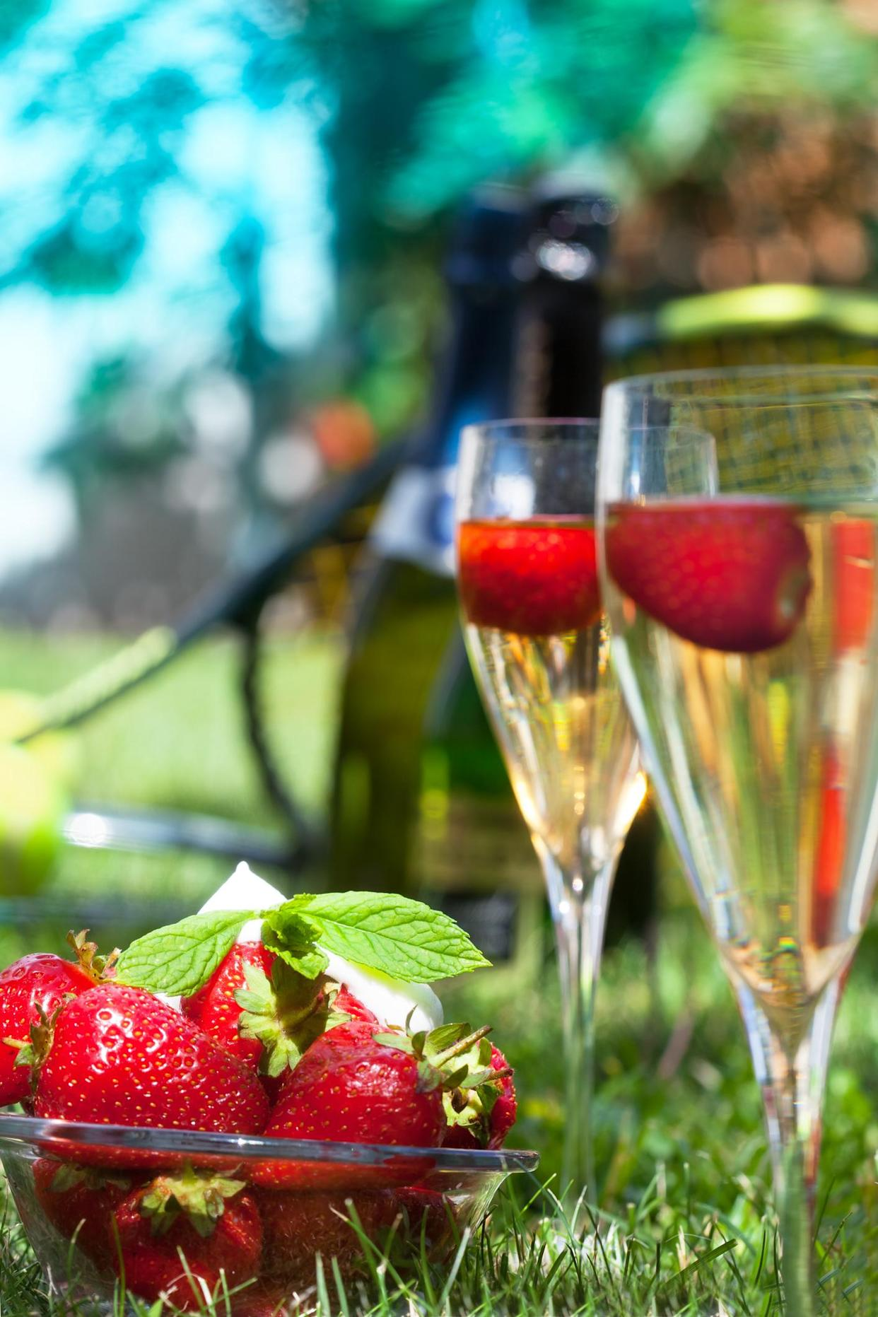 Wimbledon organisers have launched an at home picnic. (Getty Images)