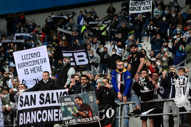 Juventus fans return to the stands.