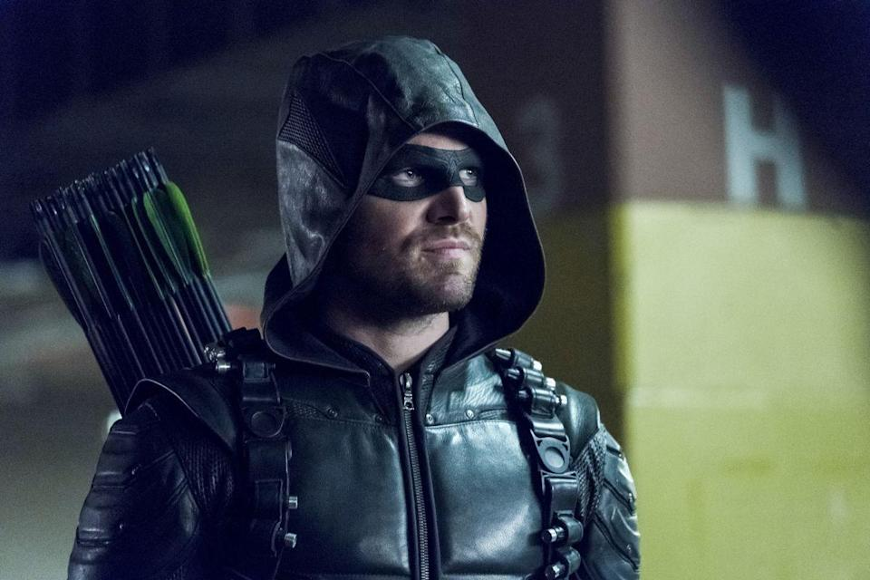 """<p>It's been five years since the premiere of <em>Arrow</em>, and the show has since gathered a huge fan following. But what's shown to us each episode isn't always what was necessarily planned from the get-go, <a href=""""http://www.marieclaire.com/celebrity/a14375457/juliana-harkavy-arrow-interview/"""" rel=""""nofollow noopener"""" target=""""_blank"""" data-ylk=""""slk:especially with each character"""" class=""""link rapid-noclick-resp"""">especially with each character</a>. From cast additions to planting hidden messages, ahead 29 things that will surprise you about the making of <em>Arrow</em>.</p>"""