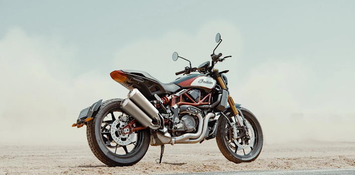 The Indian FT 1200-1 motorcycle.