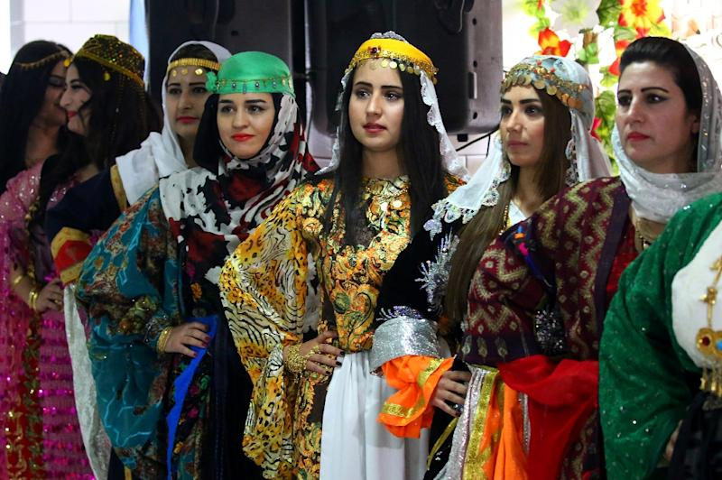 Syrian Kurds Could Not Wear Their Clothing In Public The Past Under Restrictions On