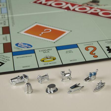 The eight current Monopoly tokens pictured in this undated handout photo obtained by Reuters February 15, 2017. Hasbro Inc./Handout via REUTERS