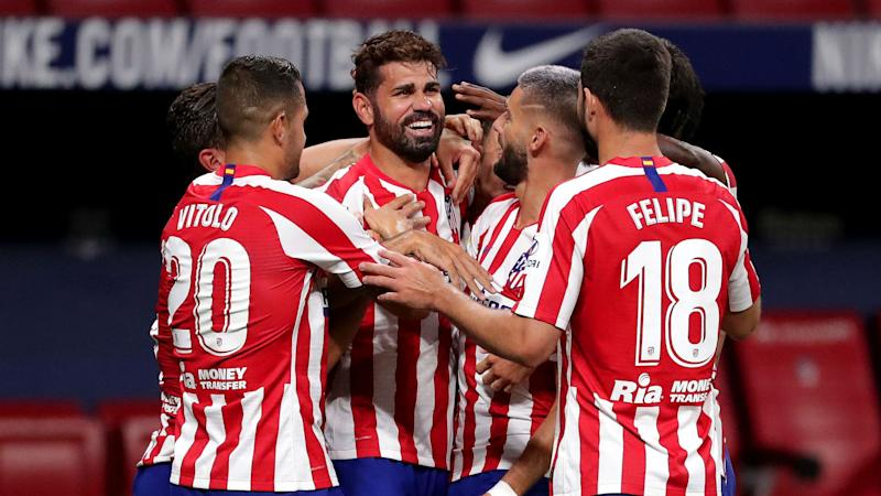 Atletico Madrid 1-0 Real Betis: Costa seals Champions League spot for 10 men