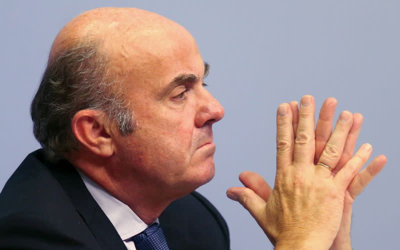 ECB's De Guindos says cross-border mergers would help move towards European banking union
