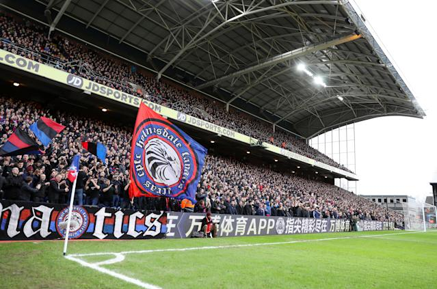 Palace fans want a return to this