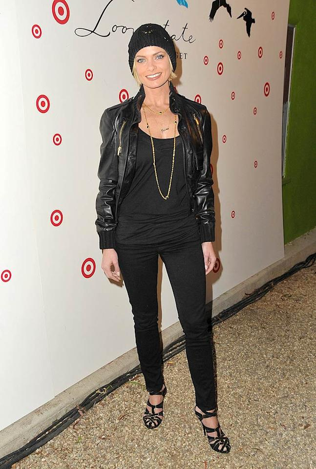 """Jaime Pressly arrived at the launch of Loomstate for Target at Big Red Sun in Venice, California. Loomstate is a casual clothing line produced through socially and environmentally responsible methods. Jordan Strauss/<a href=""""http://www.wireimage.com"""" target=""""new"""">WireImage.com</a> - April 14, 2009"""