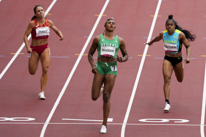 Nigerian sprinter suspended for HGH hours before Olympic run