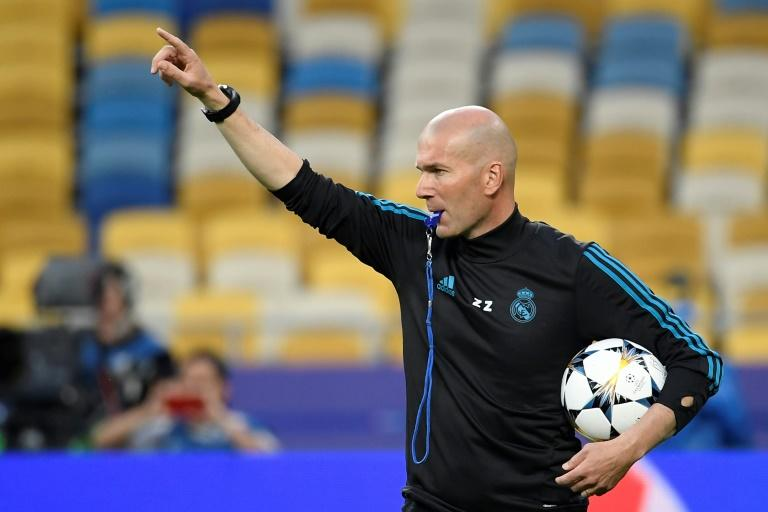 Zinedine Zidane could become the first coach to win three consecutive Champions League titles