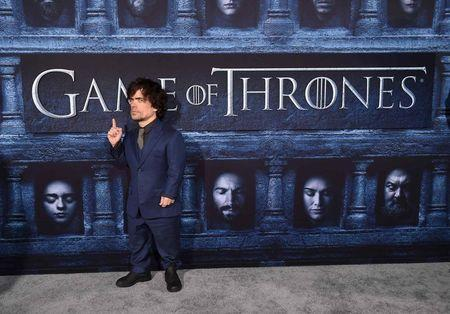 """Cast member Peter Dinklage attends the premiere for the sixth season of HBO's """"Game of Thrones"""" in Los Angeles, California, U.S. April 10, 2016. REUTERS/Phil McCarten/File Photo"""