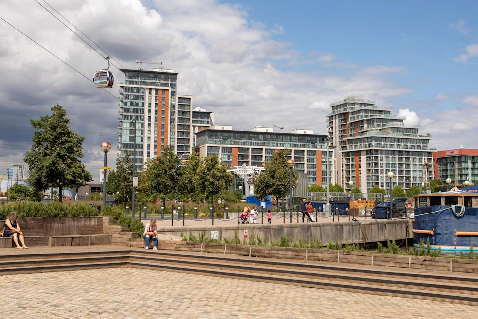 London's new face: there has been regeneration on a vast scale at Royal Docks (Adrian Lourie)