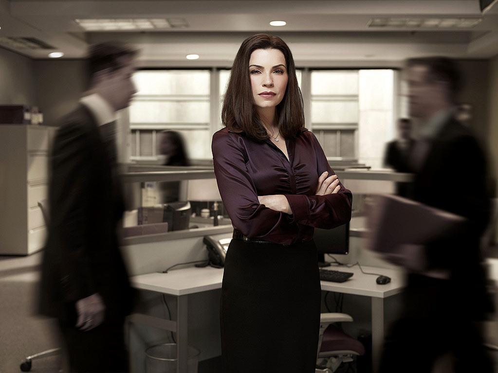 "Julianna Margulies (""The Good Wife"") is nominated for Outstanding Lead Actress in a Drama Series."