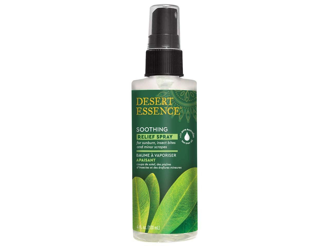 """<p>Desert Essence products were my first entry into the tea tree oil world—and wow did they sell me! I started with their <a href=""""https://www.amazon.com/Desert-Essence-Organic-Tree-Ounce/dp/B00028QAVS?ref_=ast_sto_dp"""">pure tea tree oil</a>, which I would use by mixing a few drops into my skin-care products or just with water on a cotton round to use on my face.</p> <p>Now, I love the convenience of using the (already diluted!) relief spray on both my skin and my scalp whenever there's an issue to clear up. But beware: It does smell <em>quite</em> strongly of tea tree oil. It's a smell I've grown to actually like, but maybe use it when your roommates are out or at least give them a warning.</p> <p><strong>Buy it:</strong> $7, <a href=""""https://www.amazon.com/Desert-Essence-Organic-Relief-Spray/dp/B000Z93J54"""" rel=""""nofollow"""">amazon.com</a></p>"""